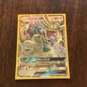 Drampa GX Pokemon card